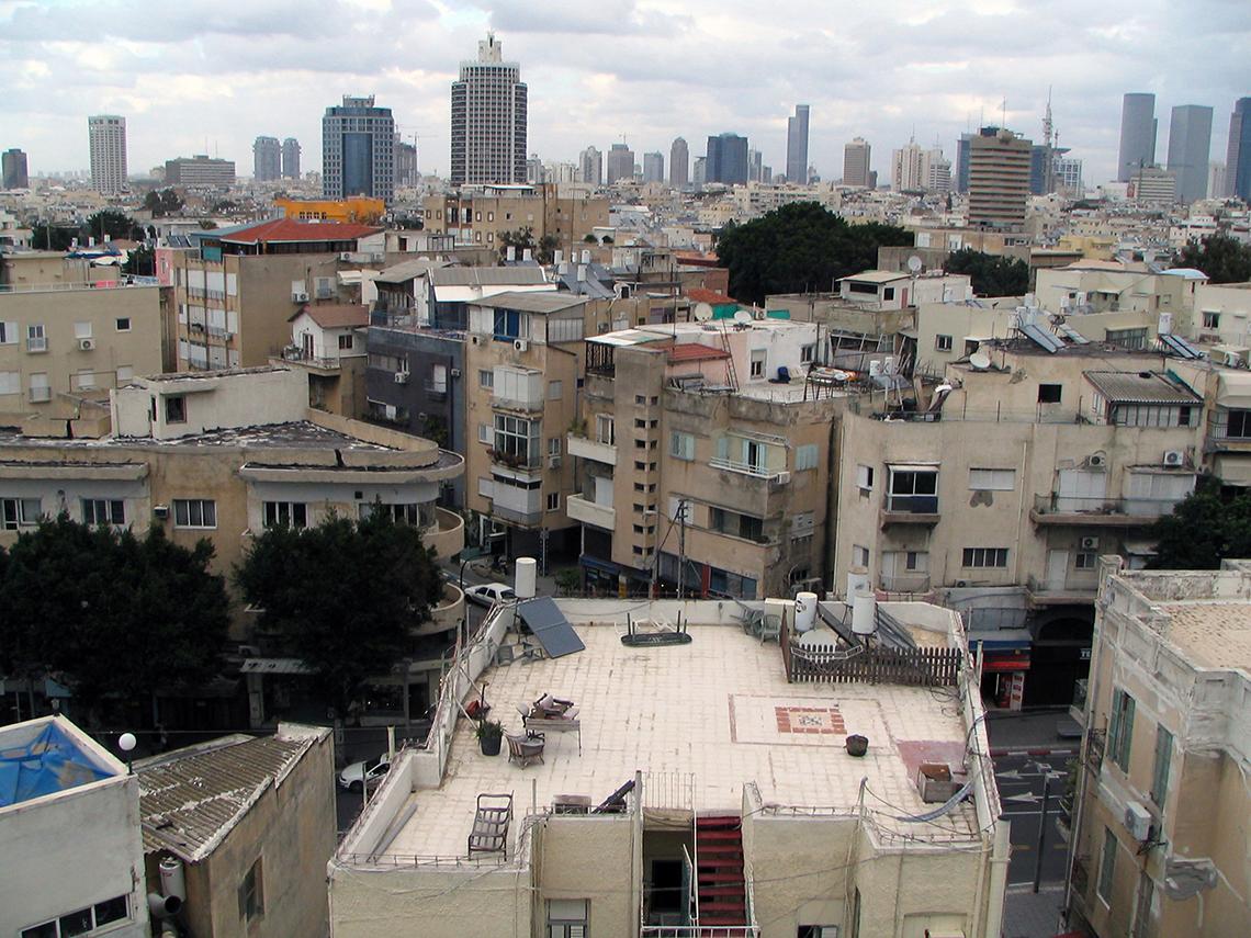 פינת הרחובות אלנבי והס