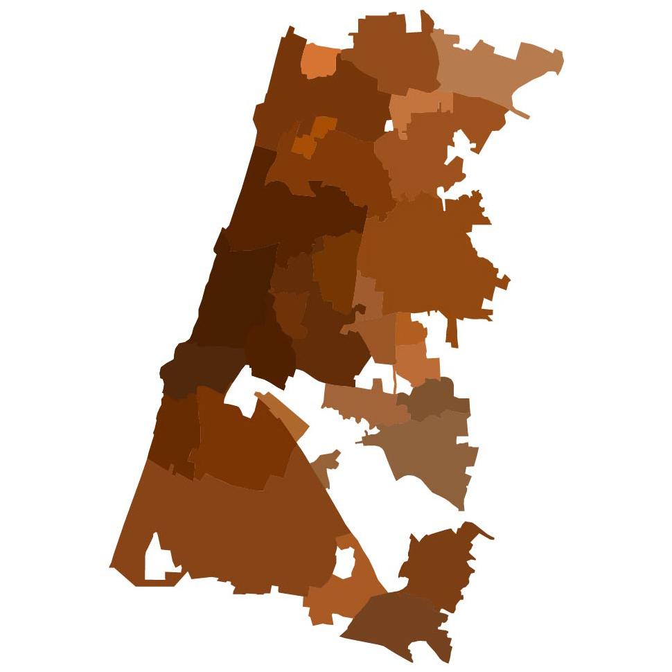 צריך להבדיל בין עיר לרשות מוניציפלית. תל אביב היא עיר בת יותר מ-2.5 מליון איש.