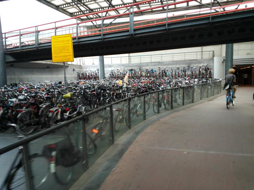 חניון אופניים למופת