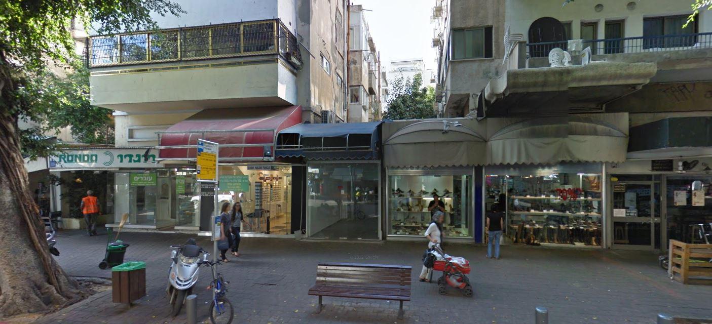 סגירת המרווח בין בנינים ברח' דיזנגוף
